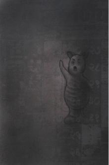 Toys Charcoal Art Drawing title Toy 2 by artist Deepak Sinkar