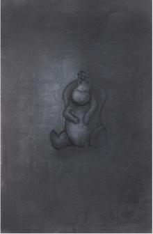 Toys Charcoal Art Drawing title Toy 5 by artist Deepak Sinkar