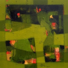 Jayesh Borse | Acrylic Painting title Calm Mind on Canvas | Artist Jayesh Borse Gallery | ArtZolo.com