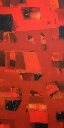 Jayesh Borse | Acrylic Painting title Soul Energy on Canvas | Artist Jayesh Borse Gallery | ArtZolo.com