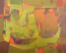 Jayesh Borse | Acrylic Painting title Undefined Emotion 1 on Canvas | Artist Jayesh Borse Gallery | ArtZolo.com