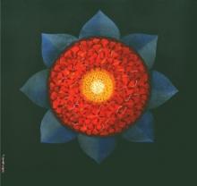 Araddhya 2 | Painting by artist RAJIB DEYASHI | acrylic | Canvas