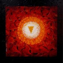 Prokriti | Painting by artist RAJIB DEYASHI | acrylic | Canvas