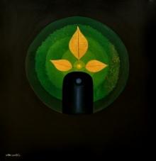Trinayan | Painting by artist RAJIB DEYASHI | acrylic | Canvas
