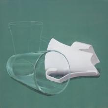 Still-life Acrylic Art Painting title 'Still Life 2' by artist Jaswinder Singh