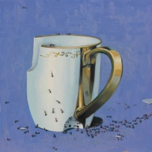 Jaswinder Singh | Oil Painting title Still Life 3 on Canvas | Artist Jaswinder Singh Gallery | ArtZolo.com