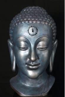 Fiberglass Sculpture titled 'Healing Mantra Garland' by artist Sagar Rampure
