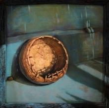 Gopal Pardeshi | Acrylic Painting title Tokri on Canvas | Artist Gopal Pardeshi Gallery | ArtZolo.com