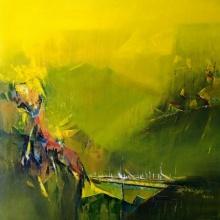 Khandala | Painting by artist Dnyaneshwar Dhavale | acrylic | Canvas