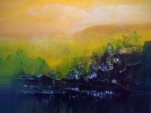 Dnyaneshwar Dhavale | Acrylic Painting title Untitled on Acrylic on canvas