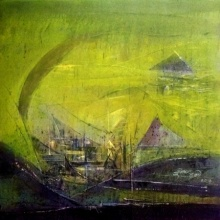 Dnyaneshwar Dhavale | Acrylic Painting title Untitled 20x20 Jpg on Acrylic on canvas