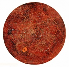 Murali Chinnasami Paintings | Acrylic Painting - WOODEN VISCOSITY 4 by artist Murali Chinnasami | ArtZolo.com