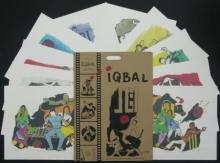 Figurative Serigraphs Art Painting title Iqbal by artist M. F. Husain