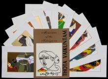 Figurative Serigraphs Art Painting title Memories Of The Telangana by artist Thota Vaikuntam