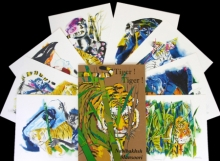 Animals Serigraphs Art Painting title Tiger by artist Nabibakhsh Mansoori