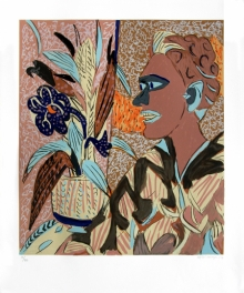 Figurative Serigraphs Art Painting title Untitled 6 by artist K. G. Subramanyan