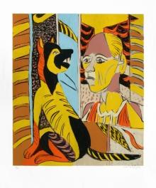Figurative Serigraphs Art Painting title Untitled 8 by artist K. G. Subramanyan