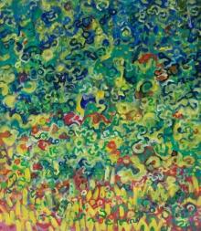 Nature Acrylic Art Painting title Nature 3 Acrylic On Canvas Pasanta Achar by artist Prasanta Acharjee