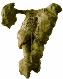 Ashwam Salokhe | Self Sculpture by artist Ashwam Salokhe on Metal | ArtZolo.com