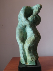 Lovers 1 | Sculpture by artist Shankar Ghosh | Bronze