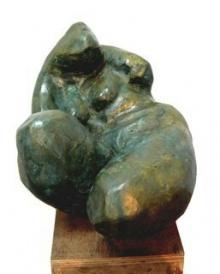 Shankar Ghosh | Torso 1 Sculpture by artist Shankar Ghosh on Bronze | ArtZolo.com