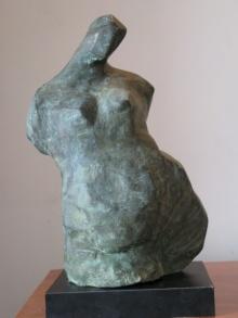 Shankar Ghosh | Torso 3 Sculpture by artist Shankar Ghosh on Bronze | ArtZolo.com