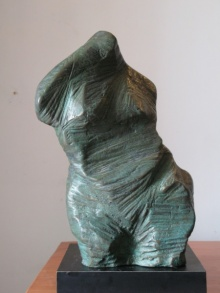 Shankar Ghosh | Torso 4 Sculpture by artist Shankar Ghosh on Bronze | ArtZolo.com