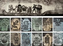Mili Mishra | My Cats Fantasy Life 2 Printmaking by artist Mili Mishra | Printmaking Art | ArtZolo.com