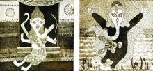 Mili Mishra | Untitled 1 Printmaking by artist Mili Mishra | Printmaking Art | ArtZolo.com