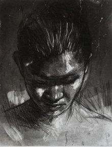 Dhananjoy Singh | Portrait 5 Printmaking by artist Dhananjoy Singh | Printmaking Art | ArtZolo.com