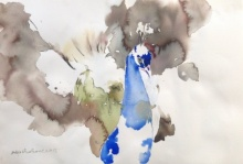 Animals Watercolor Art Painting title Untitled 10 by artist Dilip Dudhane