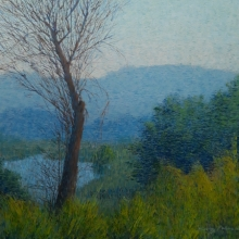 Nature Acrylic Art Painting title Untitled 1 by artist Suraj Lohar