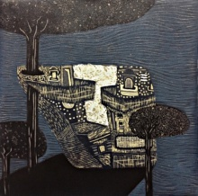 Payal Rokade | Dream City 9 Printmaking by artist Payal Rokade | Printmaking Art | ArtZolo.com