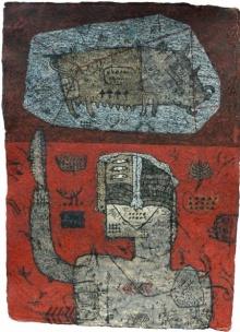 Sagar Kamble Paintings | Mixed-media Painting - Towards The Culture 5 by artist Sagar Kamble | ArtZolo.com