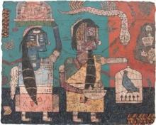 Sagar Kamble Paintings | Mixed-media Painting - Towards The Culture 6 by artist Sagar Kamble | ArtZolo.com