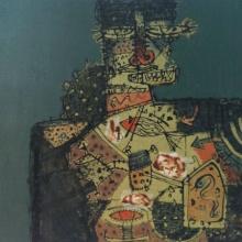 Sagar Kamble Paintings | Acrylic Painting - Untitled 7 by artist Sagar Kamble | ArtZolo.com