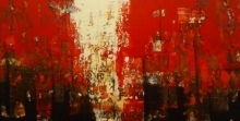 Abstract Acrylic Art Painting title 'Untitled 9' by artist Stalin Joseph