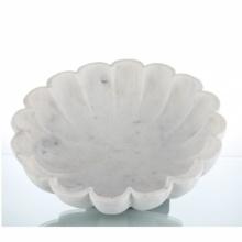 Unknown | Marble decorative flower bowl Craft Craft by artist Unknown | Indian Handicraft | ArtZolo.com