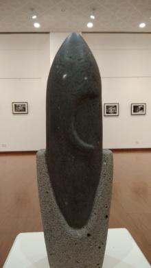 Ganesha | Sculpture by artist Hariram Phad | Black Basalt Stone