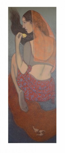 UNTITLED | Painting by artist Bhakti Lad | acrylic | Canvas