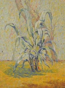 Nature Oil Art Painting title Morning by artist Gopal Gangawane