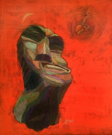 Carnality | Painting by artist Tamojit Bhattacharya | acrylic | Canvas