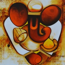 Swaroopa | Painting by artist Om Swami | acrylic | Canvas