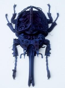 Dynastesgranti | Sculpture by artist Haribaabu Naatesan | Acrylic Glass