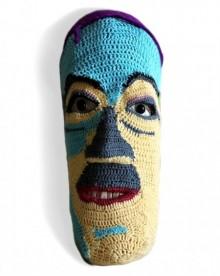 Mixed Media Sculpture titled 'Face 6' by artist Archana Rajguru