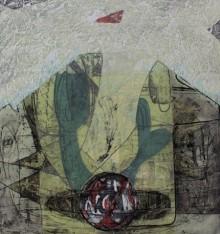 Kavita Mehrotra | Exist Of Life 1 Printmaking by artist Kavita Mehrotra | Printmaking Art | ArtZolo.com