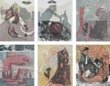 Kavita Mehrotra | Exist Of Life 6 Printmaking by artist Kavita Mehrotra | Printmaking Art | ArtZolo.com