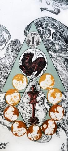 Kavita Mehrotra | Power Of Money Printmaking by artist Kavita Mehrotra | Printmaking Art | ArtZolo.com