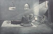 Sachin Bhausaheb Manchare | Burn Printmaking by artist Sachin Bhausaheb Manchare | Printmaking Art | ArtZolo.com