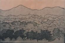 Sachin Bhausaheb Manchare | Sunrise Printmaking by artist Sachin Bhausaheb Manchare | Printmaking Art | ArtZolo.com